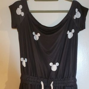Mickey Mouse off the shoulder Romper